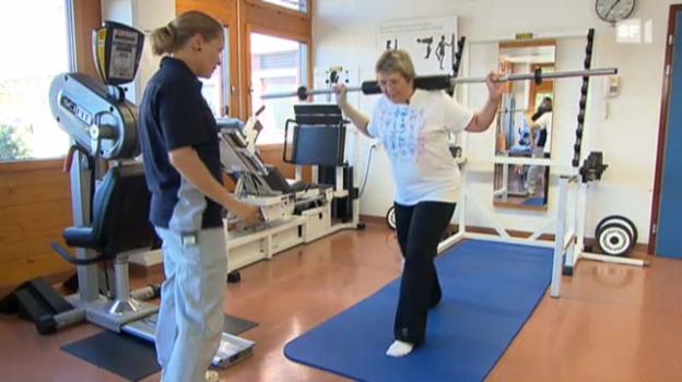 Video «Sport in der Krebstherapie im Spital Thun» abspielen