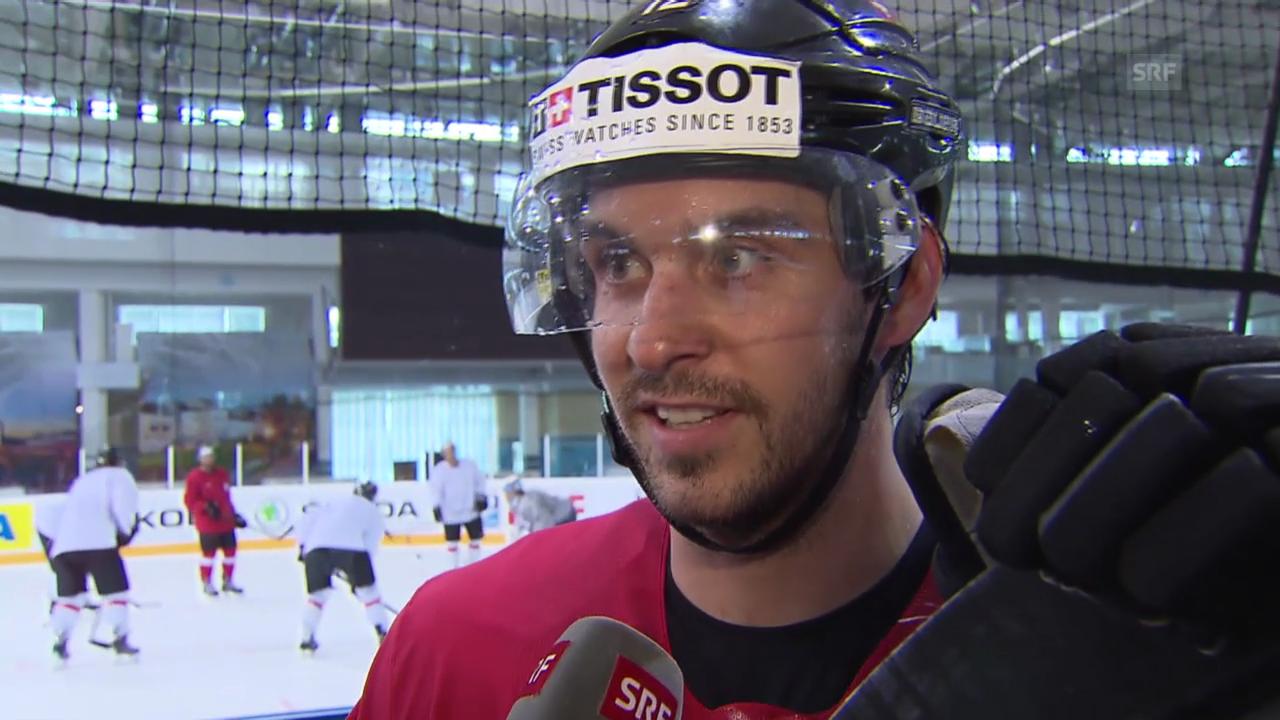 Eishockey: Luca Cunti im Interview