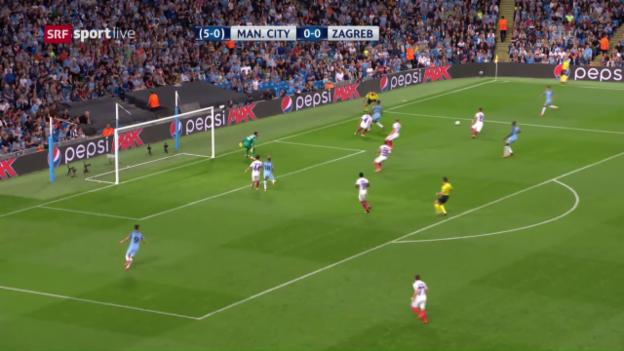 Video «Zusammenfassung Manchester City - Steaua Bukarest» abspielen