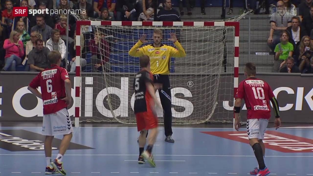 Handball: Aalborg - Kadetten Schaffhausen