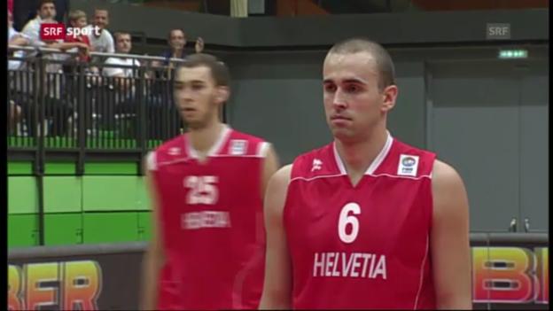 Video «BASKETBALL: Österreich - Schweiz» abspielen
