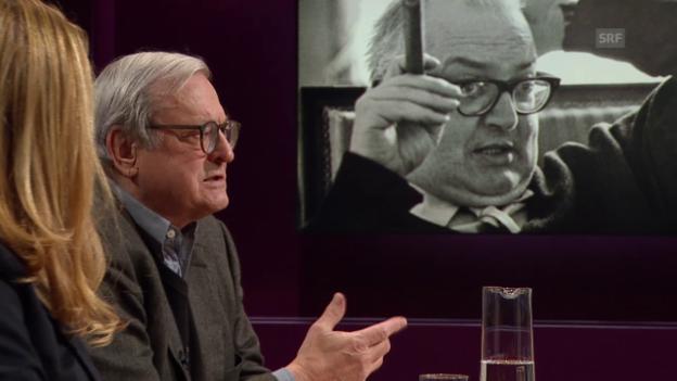 Video «Friedrich Dürrenmatt - aktueller denn je?» abspielen