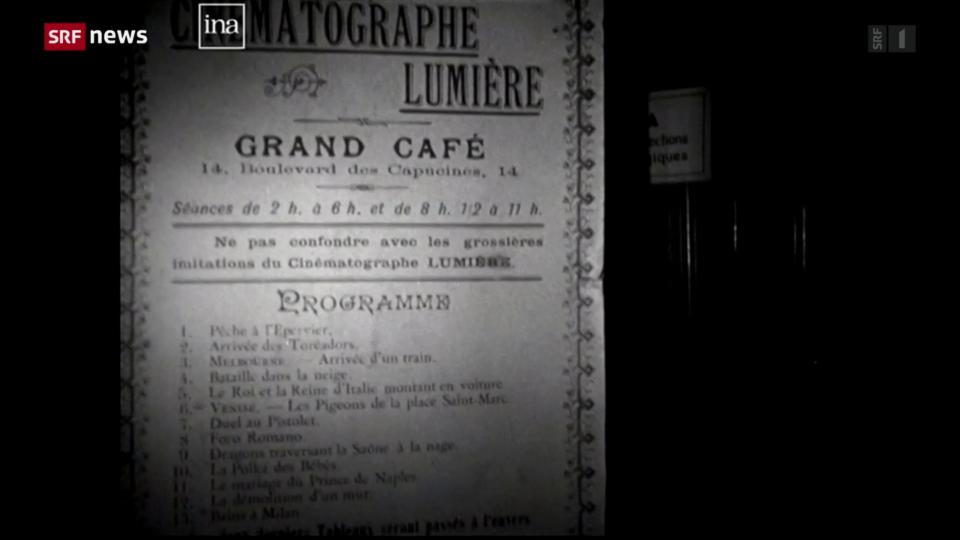 Vor 125 Jahren: Erste Kinovorführung der Brüder Lumière
