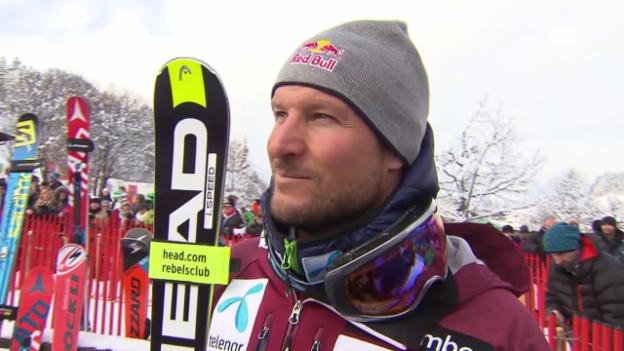 Video «Svindal: «Das war keine gute Fahrt»» abspielen