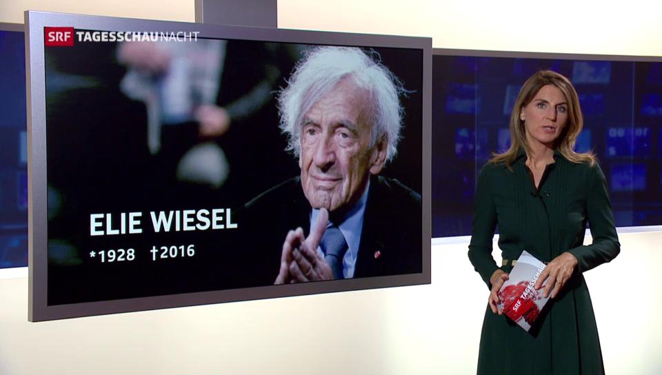 Er kämpfte gegen das Vergessen – Elie Wiesel