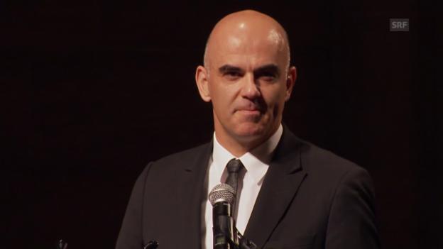 Video «Begrüssungsrede Bundesrat Alain Berset» abspielen