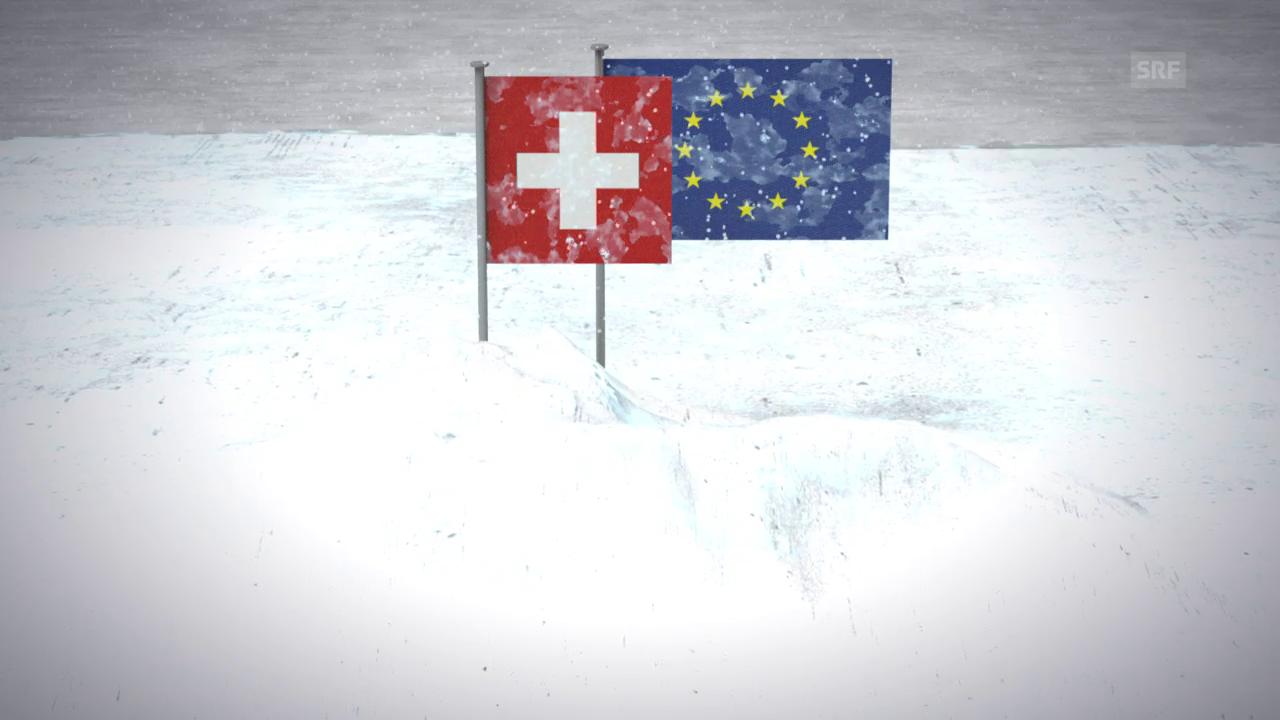Eiszeit in der Beziehung Schweiz-EU
