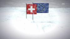 Video «Eiszeit in der Beziehung Schweiz-EU» abspielen