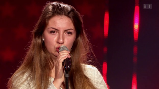 Video «Klaudia Dyttertová mit «Nella Fantasia» von Sarah Brightman» abspielen