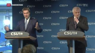 Video «Nach der Bayern-Wahl: CSU auf Partnersuche» abspielen