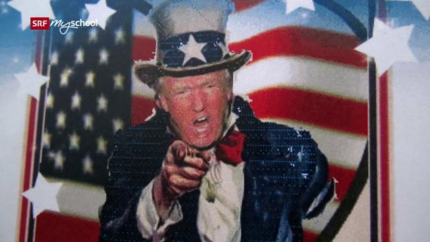 Video «Präsident Trump: Die ersten 100 Tage» abspielen