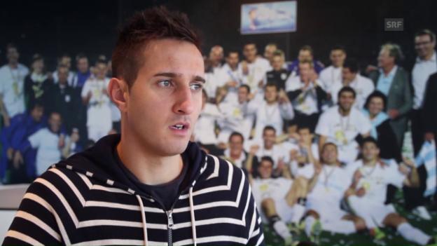 Video «Mario Gavranovic: «Mein Ziel ist es, in die Nati zurückzukehren»» abspielen