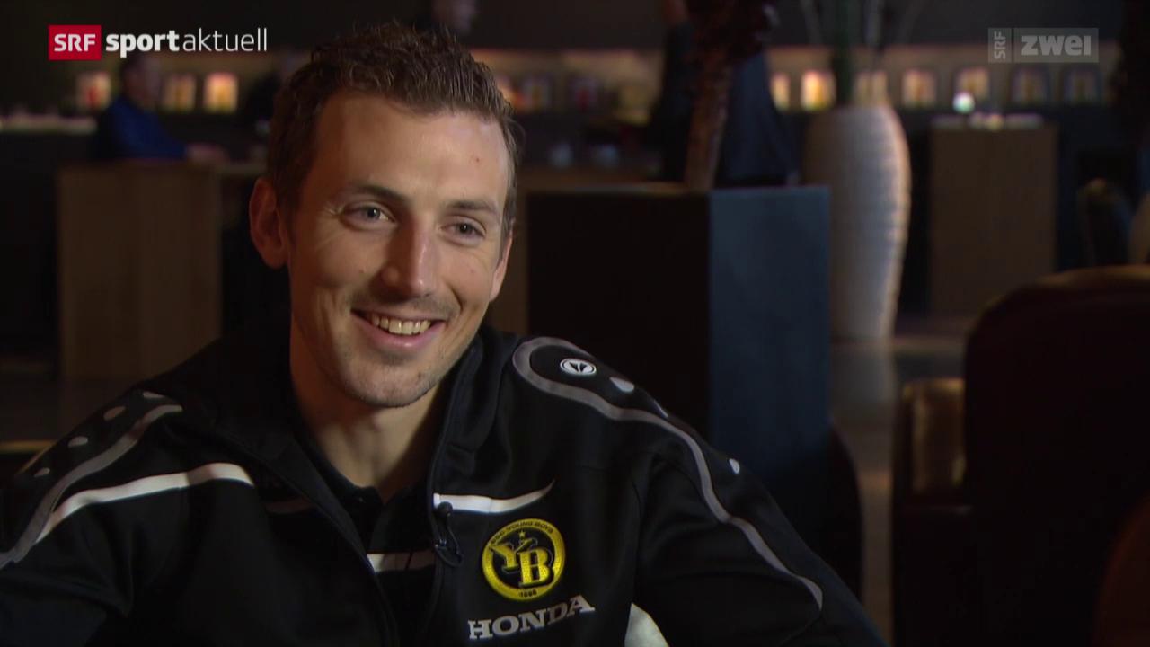 Fussball: Super League, Alexander Gerndt vor der Rückrunde