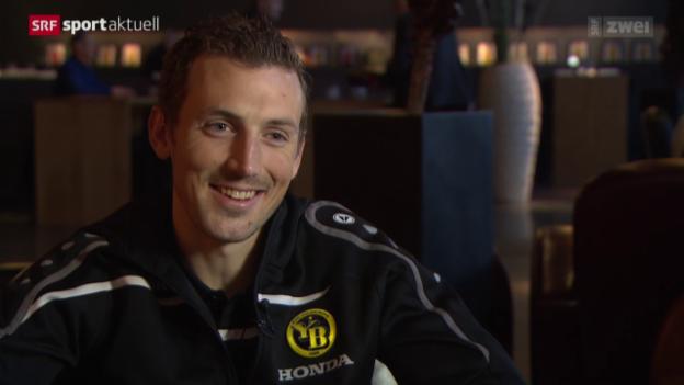 Video «Fussball: Super League, Alexander Gerndt vor der Rückrunde» abspielen