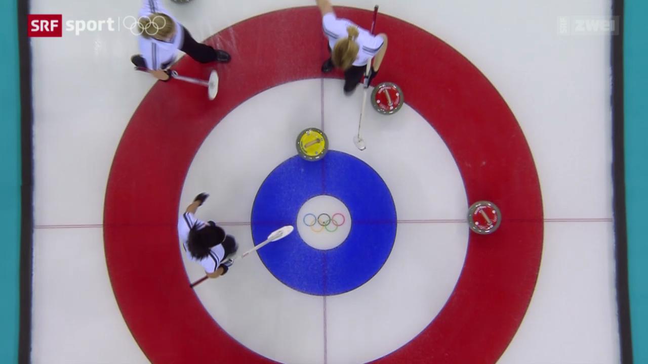 Curling: Weitere Niederlage der Schweizerinnen