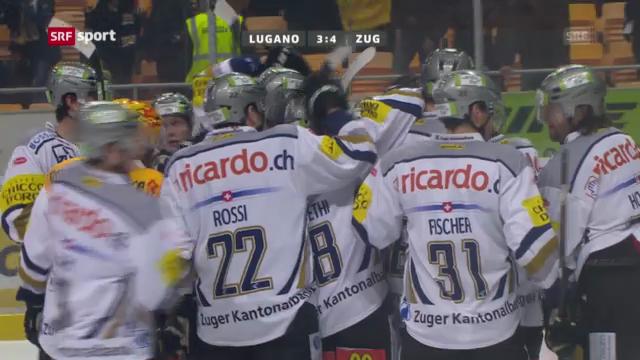 HC Lugano - EVZ («sportaktuell»)