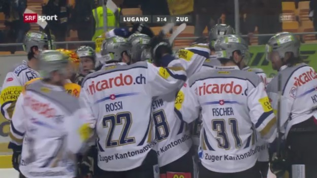 Video «HC Lugano - EVZ («sportaktuell»)» abspielen