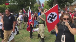 Video «Rechtsextreme Gewalt in den USA» abspielen