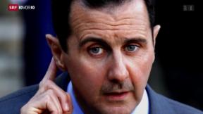 Video «FOKUS: Die Schlüsselfigur Assad» abspielen