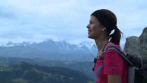 Video «Melanie Oesch wandert, liest und jodelt» abspielen