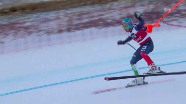 Video «Ski Alpin: Spengler Cup, Küng über Innerhofer» abspielen