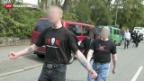 """Video «Razzien bei Neonazi-Terrorzelle """"Werwolf-Gruppe""""» abspielen"""