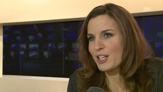 Video «Cornelia Boesch im Interview mit «glanz & gloria»» abspielen