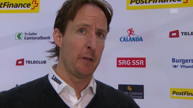 Video «Eishockey: NLA; Michel Zeiter im Interview» abspielen