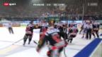 Video «Eishockey: Playoff-Halbfinals Fribourg-ZSC» abspielen