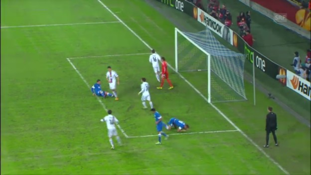 Video «EL: Highlights Dnjepr - Basel («sportlive»)» abspielen