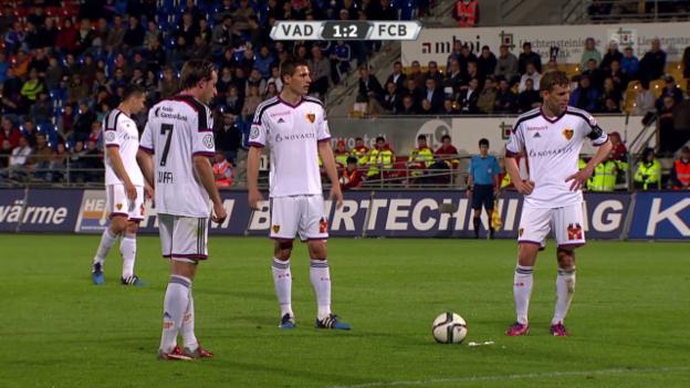 Video «Fussball: Super League, Vaduz-Basel» abspielen