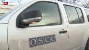 Video «Schwierige Beobachter-Arbeit in der Ukraine» abspielen