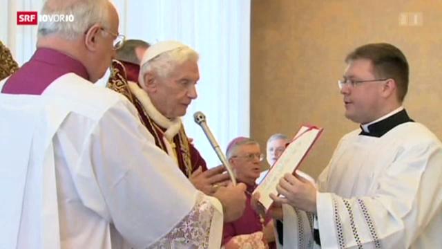 Der Papst tritt zurück