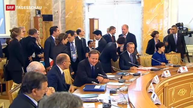 Frostiger Auftakt des G20-Gipfels