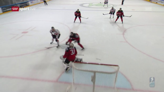 Video «So erzielt Herzog den Siegtreffer gegen Kanada» abspielen