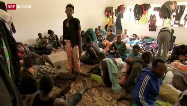 Video «Die Schweiz muss etwas für die Flüchtlinge tun» abspielen