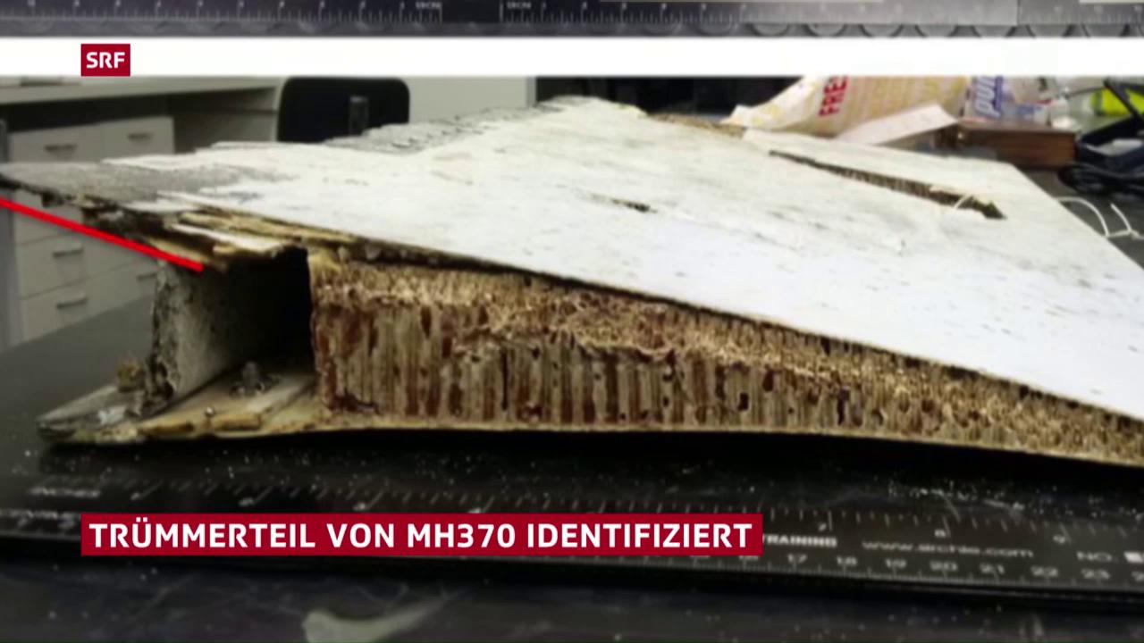 Flugzeug-Trümmerteil gehört zu MH370