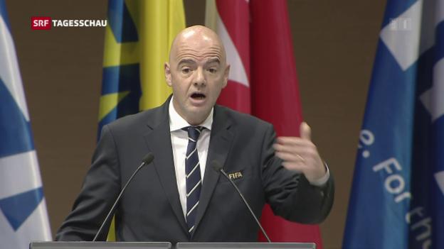 Video «Neue Fifa-Ethik-Vorsitzende deutlich gewählt» abspielen