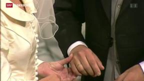 Video «Abschaffung der Heiratsstrafe: es wird eng» abspielen