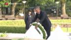 Video «Historischer Besuch von Obama in Hiroshima» abspielen