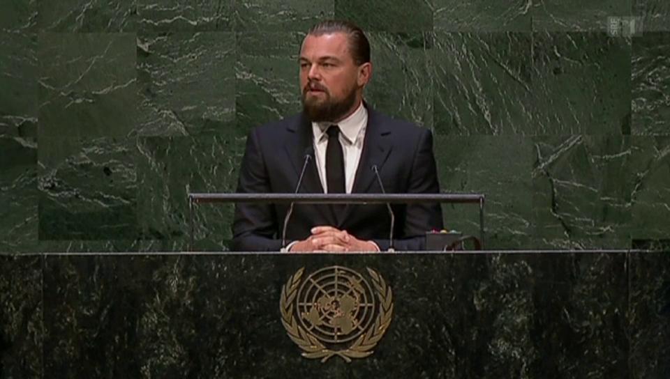 Leonardo DiCaprio gar nicht «öko»