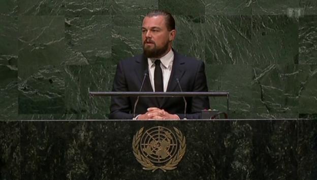 Video «Leonardo DiCaprio gar nicht «öko»» abspielen