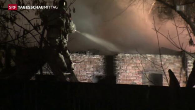 Video «Die Feuerwehr im Einsatz» abspielen