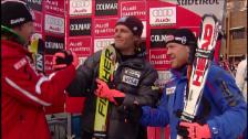 Link öffnet eine Lightbox. Video Nyman feiert 2006 in Gröden seinen 1. Weltcup-Sieg abspielen