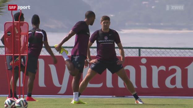 Video «Vorschau auf die Partie Uruguay - England» abspielen