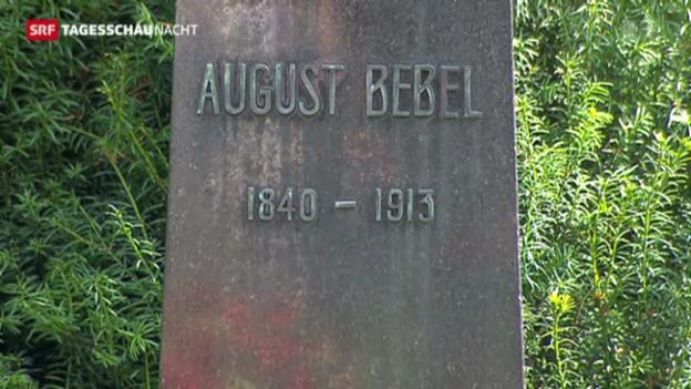 Video «100. Todestag von August Bebel. Feier in Zürich» abspielen