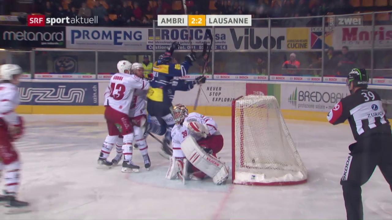 Ambris dramatische Wende zum Sieg gegen Lausanne