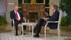 Video «Ein seltenes Interview mit Wladimir Putin» abspielen
