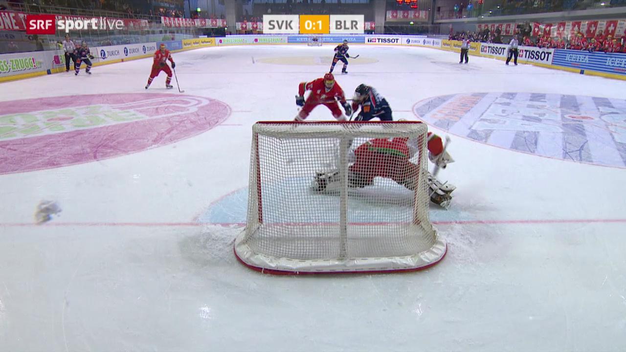 Highlights Weissrussland-Slowakei («sportlive», 20.12.13)