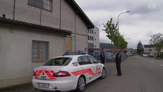 Video «Untersuchungshäftling türmt aus Gefängniscontainer» abspielen